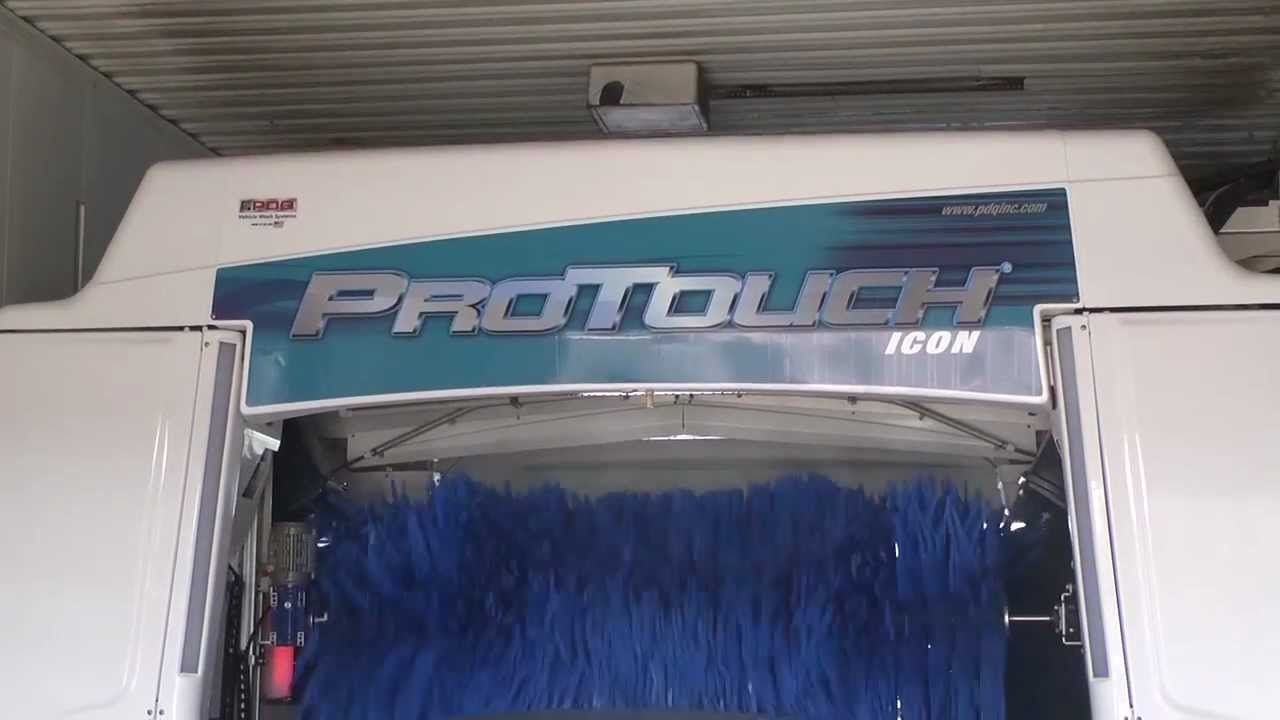 The ProTouch ICON 3-Brush Friction Car Wash System by PDQ Manufacturing