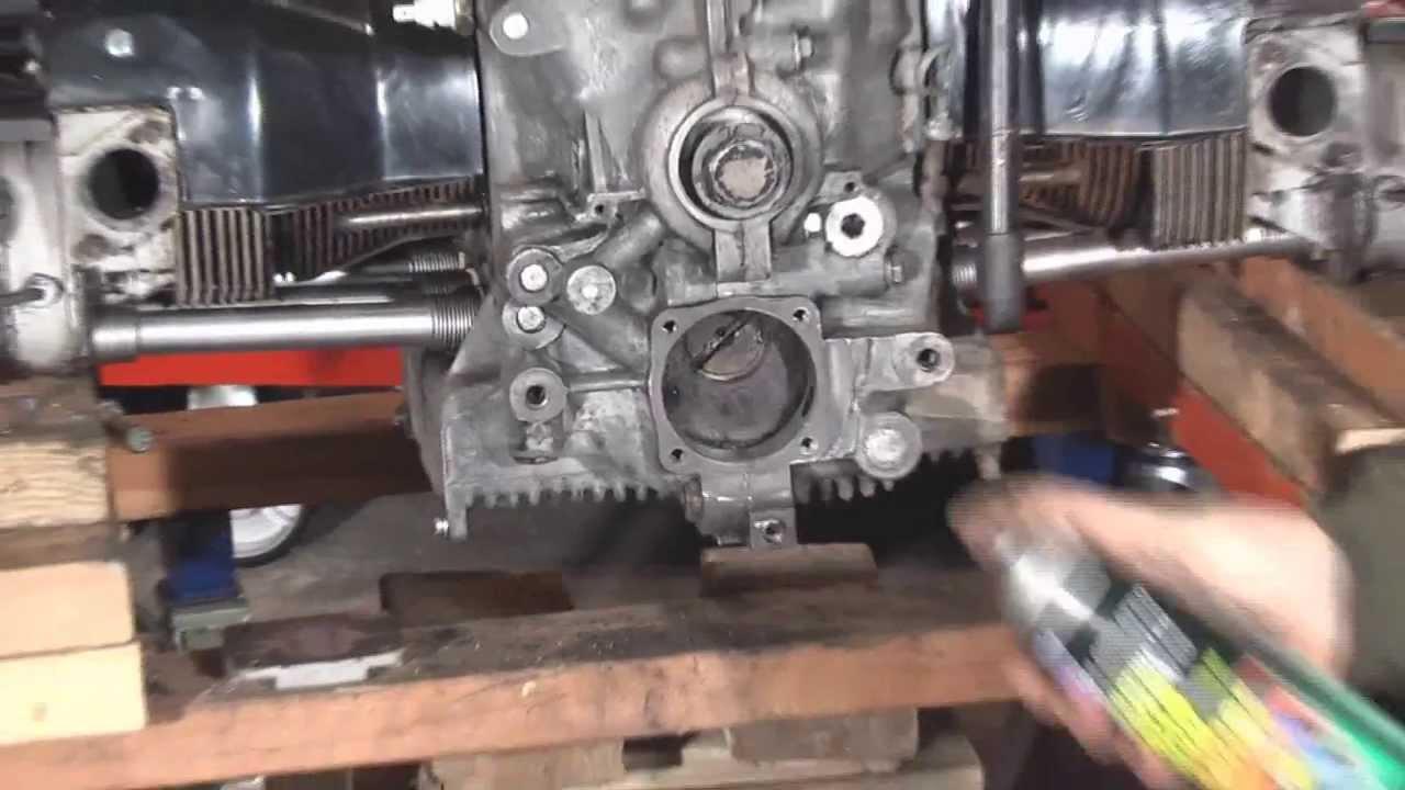 Vintage VW Bus Engine Modifications Pt  2 Assembly - DIY German Aircooled  Garage #9 - 2