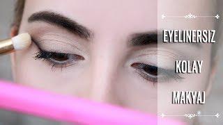 Eyelinersız Kolay Göz Makyajı 🔪 Farla Smokey Eyeliner