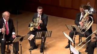 Bach Toccata and Fugue in D minor Brass Quintet.