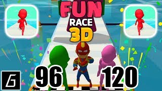 Fun Race 3D - Gameplay - Levels 96 - 120 - (iOS - Android)