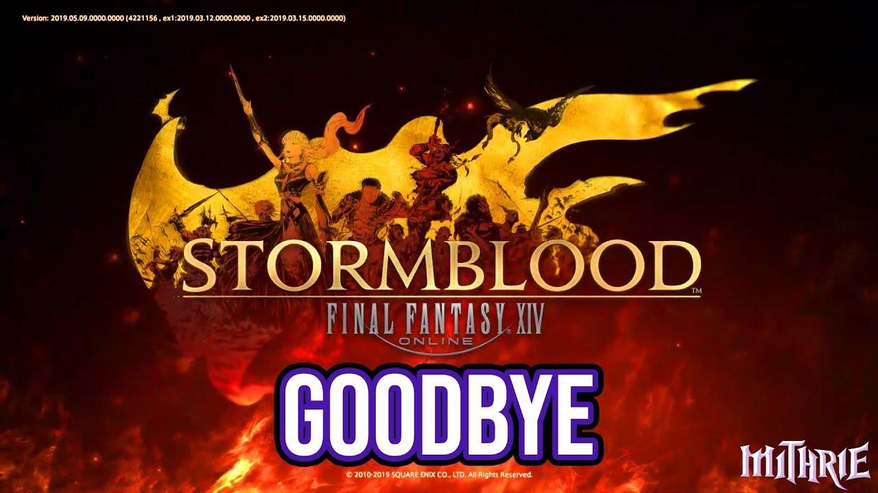FFXIV 4 58 1326 Goodbye Stormblood (2019)