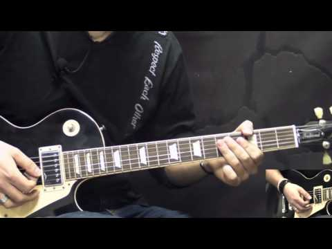 Gary Moore - I'll Play The Blues For You - Blues Guitar Lesson (w/Tabs)