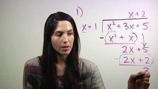 How to do Long Division with Polynomials (NancyPi)