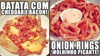 Batata Com Cheddar e Bacon + Onion Rings thumbnail