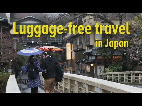 Luggage-free Travel in Japan - Panasonic's OMOTENASHI Hospitality Solutions