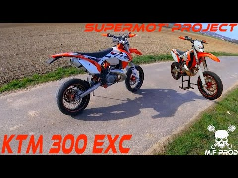 ktm 300 exc supermoto project youtube. Black Bedroom Furniture Sets. Home Design Ideas
