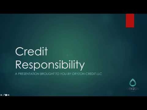 Credit 101: What is Credit, and How Does it Work? 11 19 15,