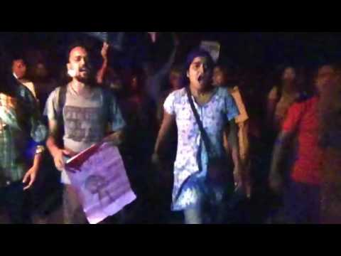 University of Hyderabad teachers and students released from the jail Justice For Rohith