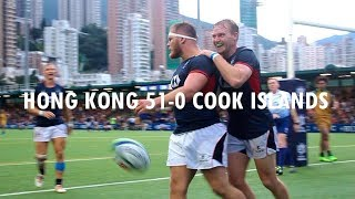 2019 Rugby World Cup Qualifiers: Hong Kong 51-0 Cook Islands