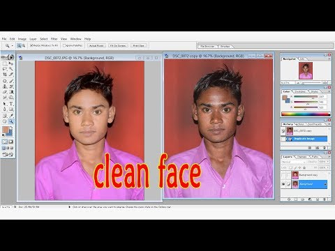 How to cleaning face_ EDIT- BY LUCKY -ADOBEPHOTOSHOP.7.0