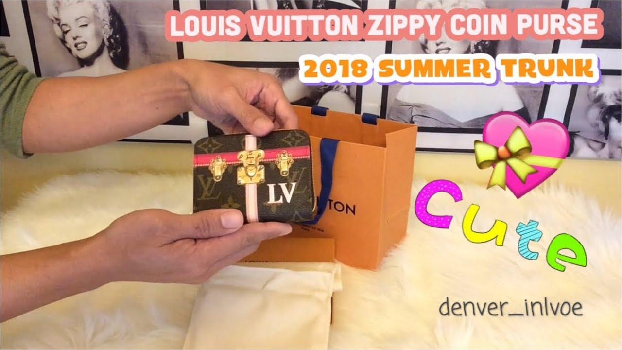 11290234afd Unboxing! Louis Vuitton Zippy Coin Purse 2018 Summer Trunk ...
