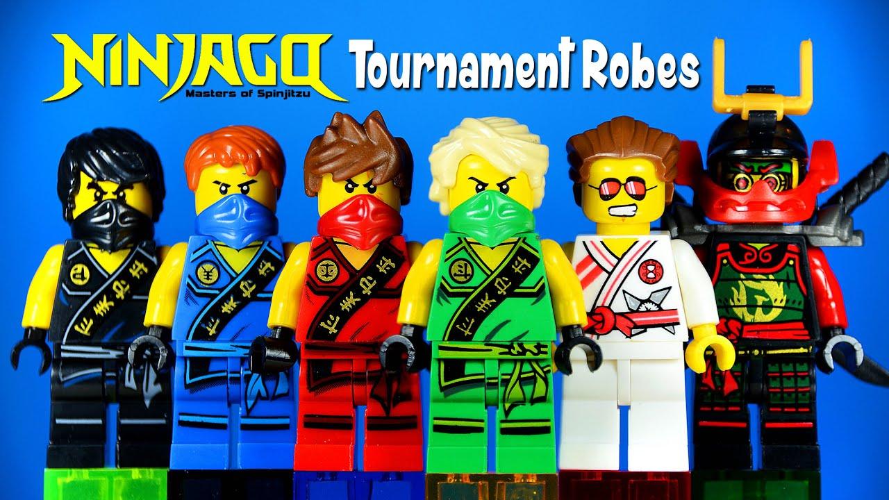 LEGO Ninjago 2015 Tournament Robes KnockOff Minifigures ...