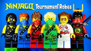 LEGO Ninjago 2015 Tournament Robes KnockOff Minifigures Set 13 Masters of Spinjitzu