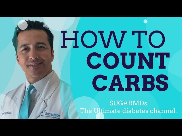 How to count carbs WITHOUT losing your mind?  Diabetes Expert tips! SugarMD