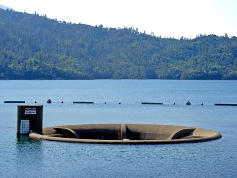 Thumbnail: Whiskeytown Lake's Glory Hole Overflows!!!