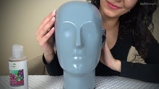 ASMR Tender Touch for Face Relaxation I Polish Whisper I Face Tapping&Massage