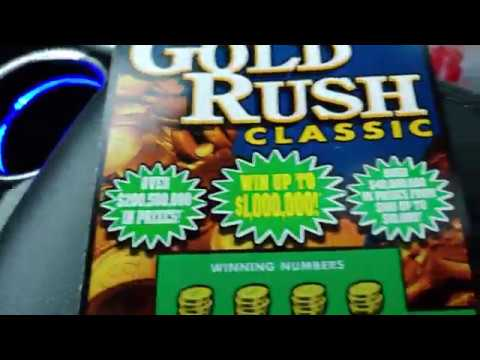 Florida Lottery: New Gold Rush Classic Release!!!