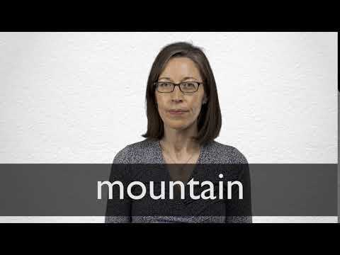 How to pronounce MOUNTAIN in British English