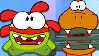 Om Nom Vs The Dinosaur | Om Nom Stories | Cartoons and Kids Songs | Moonbug TV | Cartoons For Kids