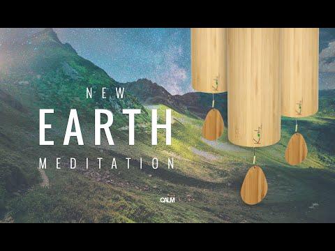 New Earth - Beautiful Koshi Wind Chimes Healing Spring Meditation 432hz