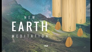 New Earth - Beautiful Koshi Wind Chimes Healing Spring Meditation 432hz