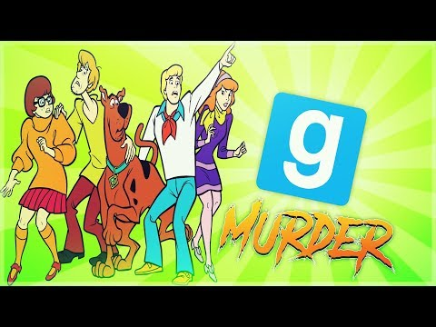 GMOD -  Murder - Scooby Doo Edition - Giant Map - Comedy Gaming