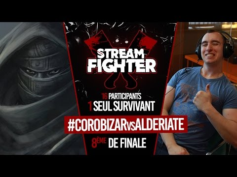 COROBIZAR vs ALDERIATE - Stream Fighter