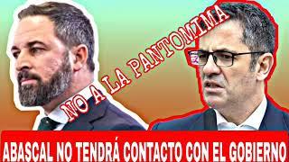 VOX NO QUIERE TENER CONTACTO CON FÉLIX BOLAÑO, NO PARTICIPARA EN EL CIRCO MEDIÁTICO