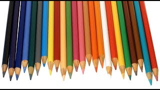 Kids Color Learning With Pencils||Colors For Children To Learn With Pencils