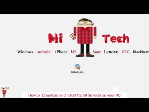 How to download 3uTools V2 09? - YouTube