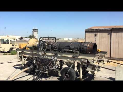 Aero Turbine Test Cell Run