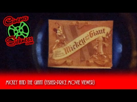 Mickey And The Giant (Fisher-Price Movie Viewer)