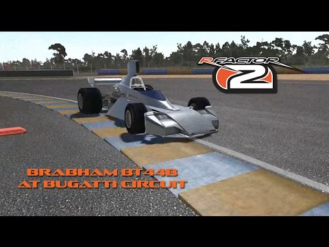 rF2: Brabham BT44B at Bugatti Circuit