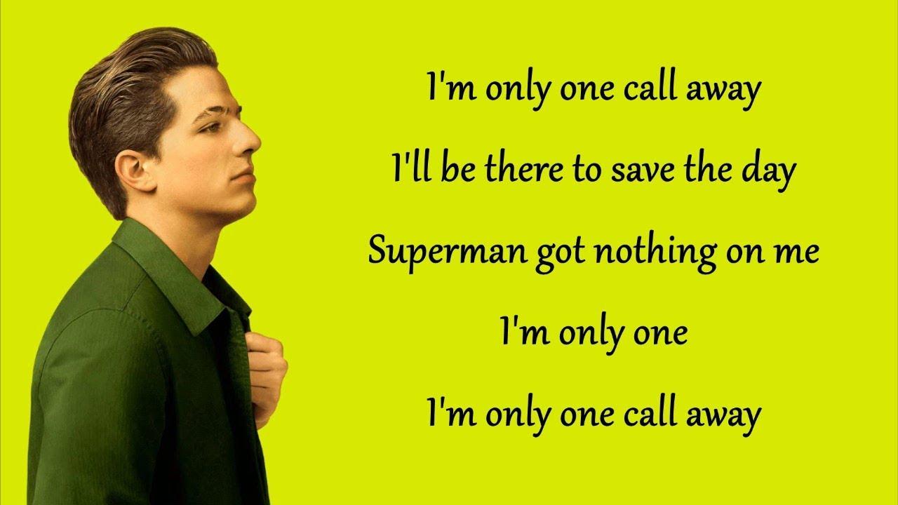 Download One Call Away - Charlie Puth (Lyrics)