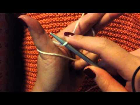 วิธีขึ้นห่วงนิตติ้ง How to start knitting