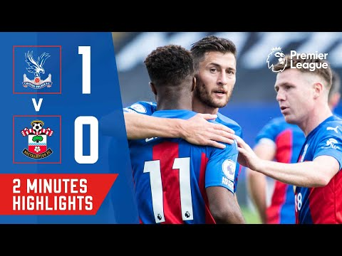 Crystal Palace Southampton Goals And Highlights