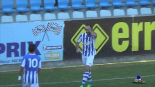Los 10 goles y 9 asistencias de Maxi Sepúlveda con la R.S.Gimnástica hasta la 11ª jornada.