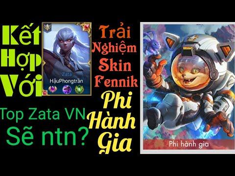 Trải nghiệm Skin Fennik phi hành gia kết hợp với Top Zata VN đã huỷ diệt rank ct 31*như thế nào?