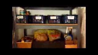 Kitchen Organization :  Organized Pantry using Dollar Tree Baskets and Wire Shelves Thumbnail