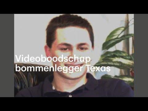 Bommenlegger Texas maakte videoboodschap voor zijn dood - RTL NIEUWS