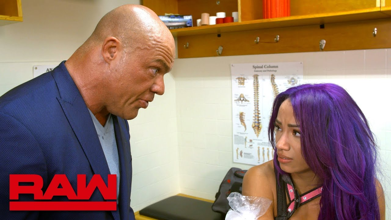 Sasha Banks learns she must attend counseling: Raw Exclusive, June 25, 2018