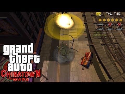 GTA: Chinatown Wars [PSP] Free-Roam Gameplay [HD]
