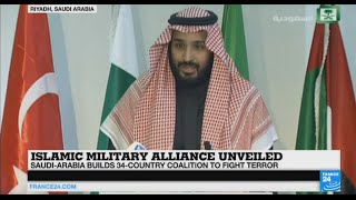 Saudi Arabia announces its intention to create a coalition to increase fight against terrorism