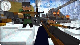 Вторая Мировая Война [ЧАСТЬ 1] Call of duty в Майнкрафт! - (Minecraft - Сериал)