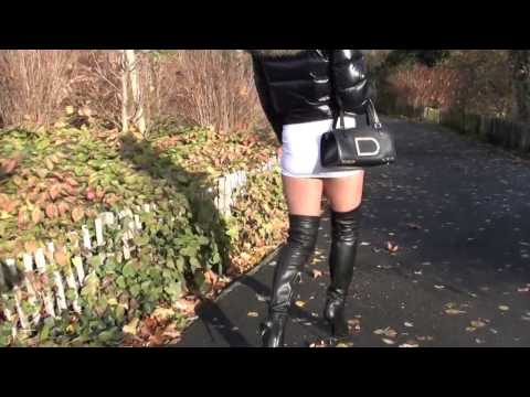 ❤Mature women walking on fair with 12 strap suspender belt and stockings from YouTube · Duration:  1 minutes 43 seconds