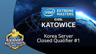 StarCraft 2   IEM Katowice 2020 - Korea Server Closed Qualifier #1   English Cast