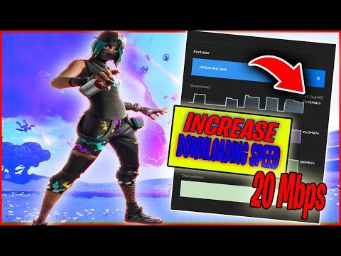 Fortnite : How To Increase Epic Launcher Downloading Speed | Fix Slow Download Speed In Fortnite