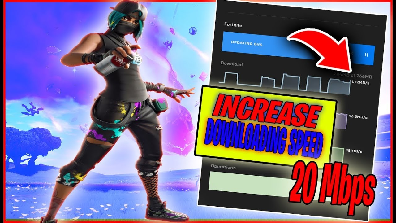 Fortnite : How to Increase Epic launcher Downloading Speed ...