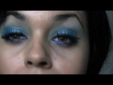 Nicki Minaj XXL Mag Spread January 2011 Makeup Look